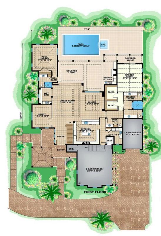 Plano-de-casa-lujosa